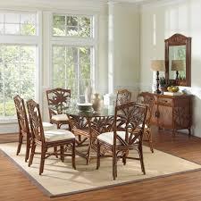 Wicker Kitchen Furniture Indoor Wicker Dining Chairs Myfavoriteheadache Com