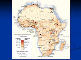 africa map landforms africa landforms and resources a human perspective a human