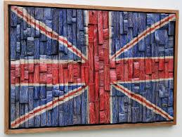 Union Jack Home Decor Available Works Eccentricity Of Wood