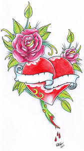 9 best heart rose tattoo designs images on pinterest tattoo