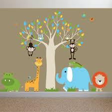 marvelous image of various safari baby nursery room for your astounding image of safari baby nursery room design and decoration using decorative colorful animal safari baby
