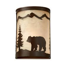 Shop Wall Sconces At Lowes shop cascadia lighting bozeman 8 in w 1 light burnished bronze