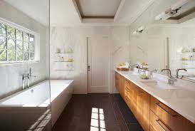 galley bathroom designs simplistic galley contemporary bathroom detroit by caden