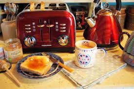 Morphy Richards Toaster Cream A Cup Of Tea Toast U0026 Honey And My Diamond Jubilee Breakfast With
