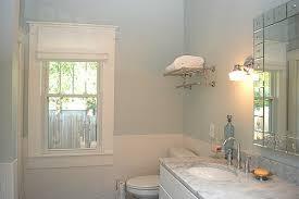 blue walls traditional bathroom benjamin moore silver crest