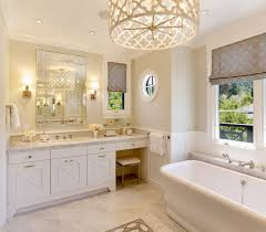 bathroom lighting fixtures living room transitional with bay