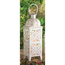 white metal iron glass hanging tabletop pillar votive candle