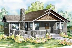 Cottage Bungalow House Plans by Bungalow House Plans Lone Rock 41 020 Associated Designs