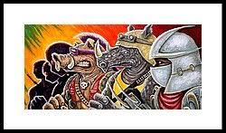 teenage mutant ninja turtles framed art prints fine art america