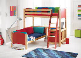2 6 Bed Frame by Scallywag Convertible L Shape High Sleeper Bunk Bed With