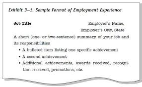 exles of resume titles resume title exles exles of resumes