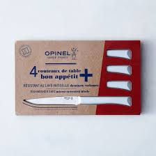 Opinel Kitchen Knives Review Opinel Everyday Table Knives Set Of 4 On Food52