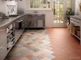 kitchen decoration ideas using colorful morocan tile kitchen