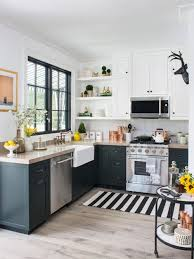 green and white kitchen cabinets property brothers kitchen ideas photos houzz