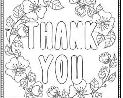 coloring pages for you thank you coloring page printable in humorous print image