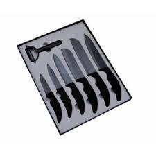 couteau cuisine ceramique pradel excellence sc007 coffret céramique en boîte vitrine 6