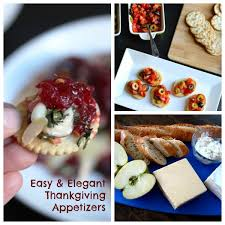 easy and thanksgiving day appetizers