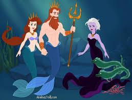 mermaid triton athena ursula tensaisaiyan deviantart