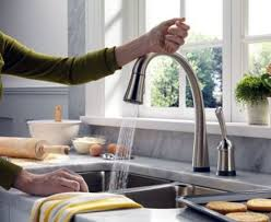 touch sensitive kitchen faucet pointless gadget of the day touch sensitive faucet wired