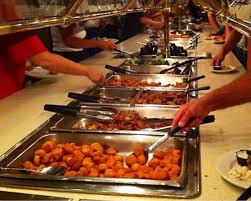 captain s table myrtle beach captain george s seafood buffet one of six tables picture of