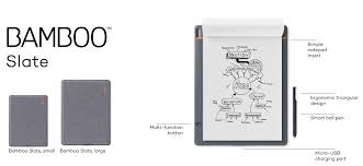 introducing bamboo folio and bamboo slate smart notebooks for