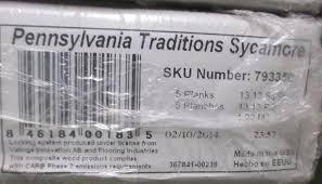 Pennsylvania Laminate Flooring Pennsylvania Traditions Sycamore Laminate Flooring Amazon Com