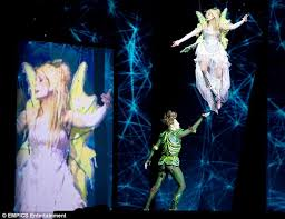 stacey solomon shines tinker bell peter pan
