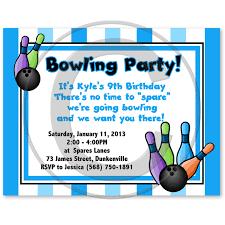 bowling birthday party invitation wording invitation ideas