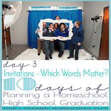 Invitation Card For Graduation Day Planning Homeschool High Graduation Invitations Day 3