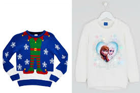 children s jumpers including disney frozen reindeers