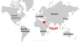 Egypt Africa Map by Where Is Egypt