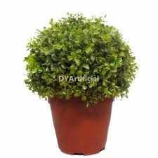 Hanging Topiary 45cm Uv Protection Plastic Hanging Topiary Leafs Balls Dongyi
