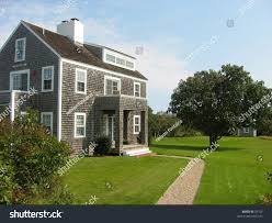 cape style house cape cod style house on nantucket stock photo 39762 shutterstock