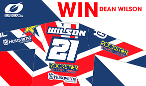 signed motocross jersey o u0027neal europe win exclusive signed dean wilson race jerseys