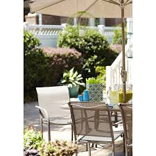 Patio Dining Chair Garden Treasures 2 Count Steel Patio Dining Chairs Heavy Duty