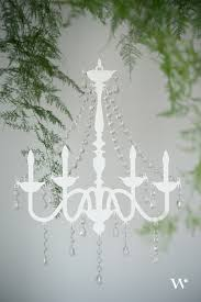Create A Chandelier Diy Wedding Wednesday Pretty Wild U2013 A Chandelier U0026 Fern Overhang