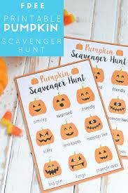 printable halloween scavenger hunt free printable pumpkin scavenger hunt katarina u0027s paperie