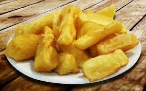 brasilianische küche küche frittierte maniok