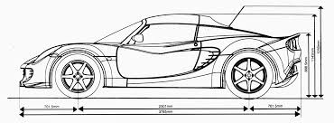 cars drawings muscle car drawings side view eskay