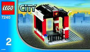 land rover lego lego fire headquarters instructions 7240 city police rescue