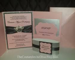Bling Wedding Invitations Bling Invitation