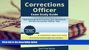 read online corrections officer exam study guide test prep book