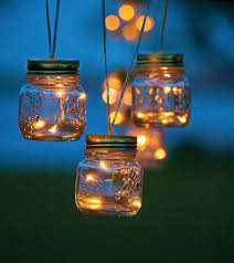 Mason Jar Lights Outdoor by Patio Lighting Ideas Improvements Blog
