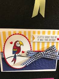 bird banter 2018 occasions catalog by stampin u0027 up 2018 su