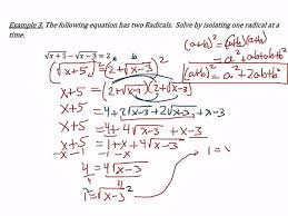 Radicals And Rational Exponents Worksheet Answers Solving Radical Equations Worksheets Reviewrevitol Free