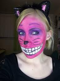 halloween cheshire cat makeup alice in wonderland pinterest