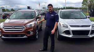 ford escape vs ford edge 2018 2019 car release specs reviews