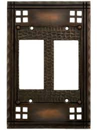 craftsman style light switches metal wall plate single duplex decorator light switch outlet covers