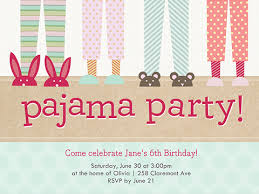 pajama party invitation template 15 free printable sleepover