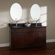 bathroom exciting costco vanity with oak wood material and trough